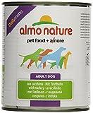 Almo Nature Daily Menu Hundefutter mit Truthahn, 12 Dosen (12 x 800 g)