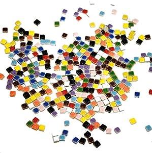 Playbox - Piezas para Mosaico (5 x 5 mm, 500 Piezas)