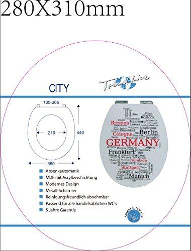 TrendLine WC-Sitz City
