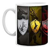 #8: Classic game of thrones mug for Tea And Coffee Ceramic Mug 350ML One Pice BY Dream Sales