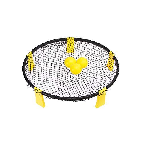 LONGSUODI Spiderball-Set mit 5 Bällen, draußen gespielt, drinnen, Rasen, Hof, Strand, Park, Spiel für Jungen, Mädchen, Teenager, Erwachsene -