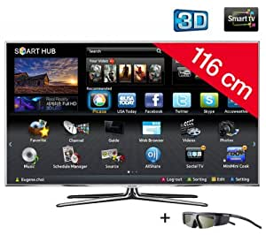 "Samsung UE46D8000YSXXC TV LCD 46 "" (117 cm) LED 800 Hz Noir"