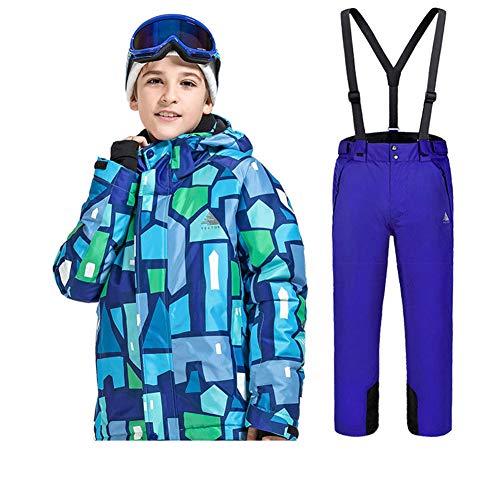 LSERVER-Traje Esquí Niños Niñas Invierno Conjunto