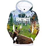 Fortnite personality novelty Sweatshirt Youth 3D Printed Hoodie Casual Pullover for unisex