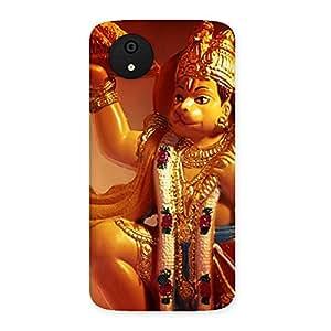 Lord Hanuman Multicolor Back Case Cover for Micromax Canvas A1