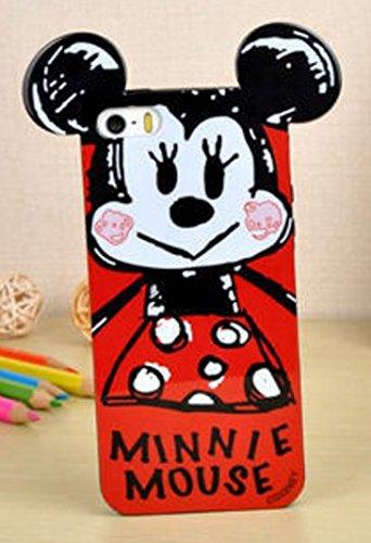 Coque BUMPER de qualite IPHONE 6/6s - Tic Tac donald dingo daisy minnie oreilles design Swag DESIGN case+ Film de protection OFFERT 4