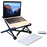 Techtest Laptop Stand – Portable Laptop Stand – PC And MacBook Laptop Stand , Laptop Stands,laptop Stand Bed,laptop Stand For Desk,laptop Stand For Office,laptop Stand Adjustable Height,desktop Stand,desktop Stand For Laptop,desktop Stand For