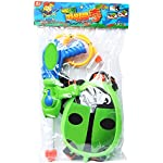 ESSEN Power Water Gun / Green / supre shooter/ child Water Play Toy Squirt Toys