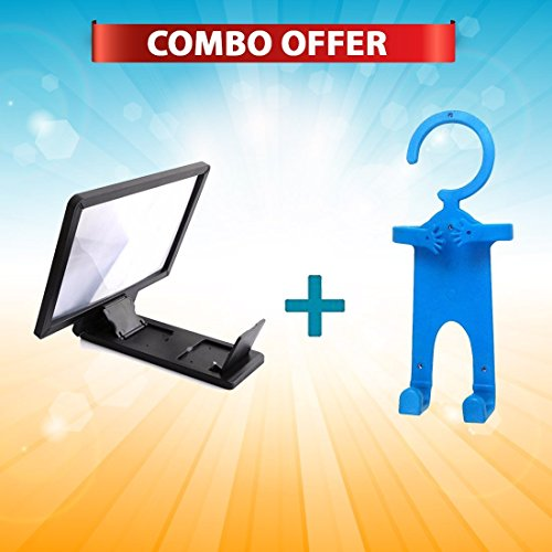 Mobile Phone Cordless Organizer Stand & 3d screen Mobile holder (Color as available)  available at amazon for Rs.499