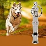 #2: PnM Dog Pet Stainless Steel Dog Puppy Whistle Portable Ultrasonic Adjustable Sound Key Dog Training Whistle