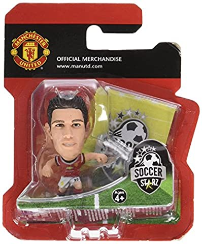 MANCHESTER UNITED F.C. Robin Van Persie SoccerStarz Figure * 2 Inches Tall * With Collectors Card * In Blister Pack Official Licensed