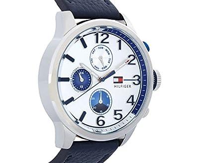 Reloj para hombre Tommy Hilfiger 1791240, mecanismo de cuarzo, diseño con varias esferas, correa de piel. de Tommy Hilfiger