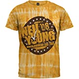 Neil Young - Herbst 08 Tour Tie Dye T-Shirt