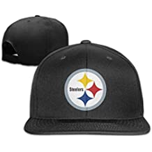 hittings Steelers Logo Classic Men Women Béisbol Adjustable–Gorra de béisbol Caps Rosa Black