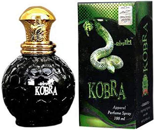 Rimzim Kobra Perfume for Men & Women By Graphics World, 100ml, Apparel Unisex Perfume Long Lasting