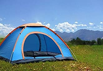 YFXOHAR Picnic Camping Portable Waterproof Tent for 8 Person/Camping Dome Tents (Colour May Vary)