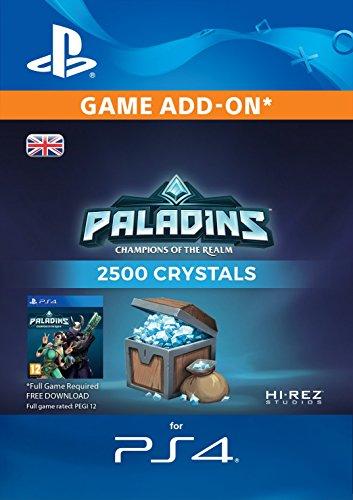 2500 Paladins Crystals [PS4 PSN Code - UK account]
