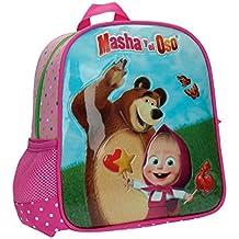 nuovo arrivo 2e474 94a0b Amazon.it: zainetto asilo masha e orso