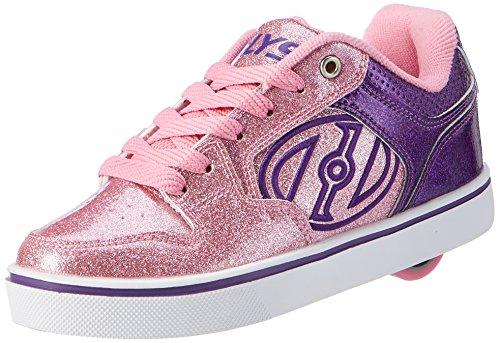 Heelys Mädchen Motion Plus Turnschuhe, Violett (Purple/Pink Glitter), 32 EU