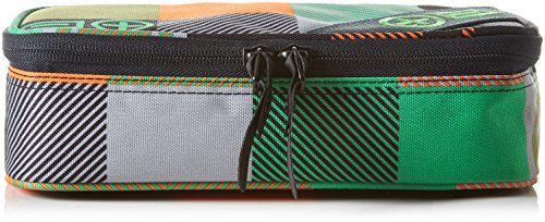 Chiemsee Stifteetui Pencase Plus PM, Square Green P, 23.5 x 6.5 x 11 cm, 1.3 Liter, 5090345 (Rabatt Geldbörse)