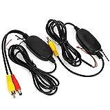 TOOGOO NUEVO Transmisor y receptor de Video en color inalambrico 2.4G para la camara de respaldo del vehiculo Camara delantera del coche
