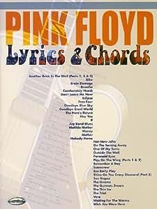 Pink Floyd: Lyrics And Chords. Partitions pour Paroles et Accords