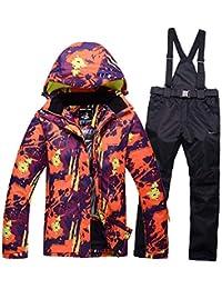 Zjsjacket Chaqueta de esqui Hombres y mujeres Ropa de montaña de nieve Deportes al aire libre