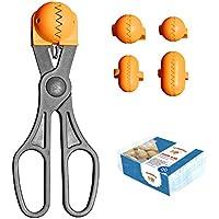 La Croquetera Pack- Utensilio Multiusos Color Naranja - 4 moldes Intercambiables para masas + Pack