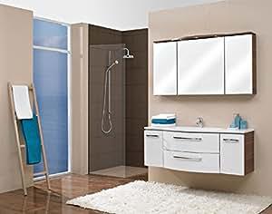 pelipal lunic 3 tlg badm bel set waschtisch unterschrank spiegelschrank. Black Bedroom Furniture Sets. Home Design Ideas