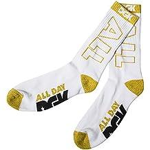 DGK Men's All Day Crew Socks White