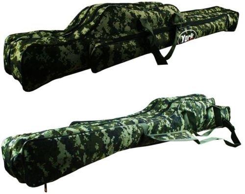 futteral angel camouflage YORK Digital Rutentasche (130cm) Gr 1,10m-1,70m Angeltasche Rutenfutteral Angelkoffer Futteral Angeln Tasche / Größe wählbar
