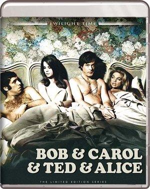 BOB & CAROL & TED & ALICE BLU RAY ( TWILIGHT TIME )