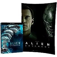 Alien Collection 1-6 (Steelbook) (Blu-ray) + Poster Alien: Covenant - Esclusiva Amazon Geek Mix