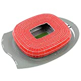 Wanson 2018 Russland Welt Souvenirs München Allianz Fußballstadion Bernabeu Stadion 3D-Puzzle-Modell Fußball Fan-Souvenirs Macht Ein Tolles Souvenir,M