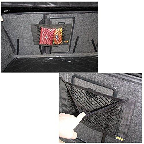 Generic NV _ 1001003360_ yc-uk2IC uket Truck Sitz Stor Auto Cargo Tidy Net Ruck hinten Organizer Net hinten hängende Aufbewahrung Izer Bag w/Magic UK - Cargo-zubehör Truck
