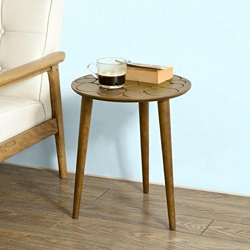 SoBuy® Design Beistelltisch, Couchtisch, Kaffeetisch, Sofatisch, Balkontisch, FBT30-BR