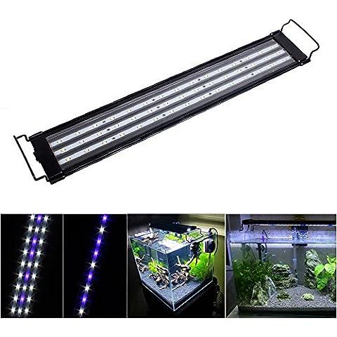 SPEED 23W Acuario Luminaria LED Luces De Iluminación De Aluminio Azul Blanco/RGB