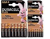 Duracell Plus MN2400AAA pilas alcalinas (24unidades)