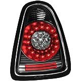 Dectane RMI04LB - Faros traseros LED para Mini Cooper / S R56 (modelos a partir de 2006), color negro
