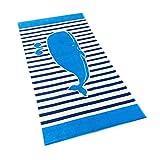 Jungen Mädchen Bade Strandtuch Badetuch - Kinder Bademantel Handtuch 100% Baumwolle Poncho Erwachsene Karikatur Gedruckt Super Weich
