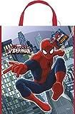 Unique Party Borsa Grande Spiderman, 33cm x 28cm