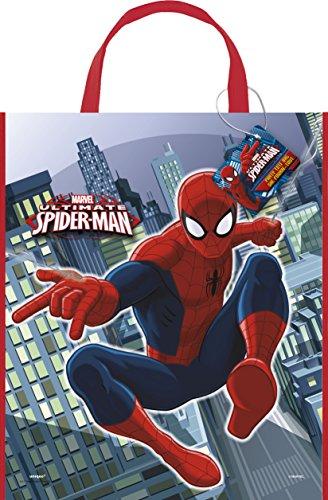 Großes Spiderman Party Tasche, 33cm x 28cm
