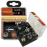 GADLANE Universal-Ersatzbirnen-Set, 10 Stück, inkl. H1, H4 und H7 Scheinwerferlampen und Sicherungen