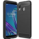 #7: Cedo Rugged Armour TPU Military Grade Back Cover Case for Asus Zenfone Max Pro M1 ZB601KL (Black)