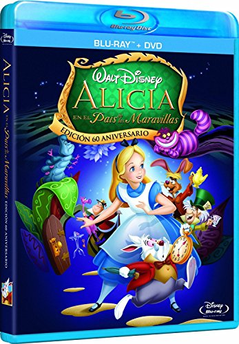 Alicia en el País de las Maravillas (Combo BR + DVD) [Blu-ray]