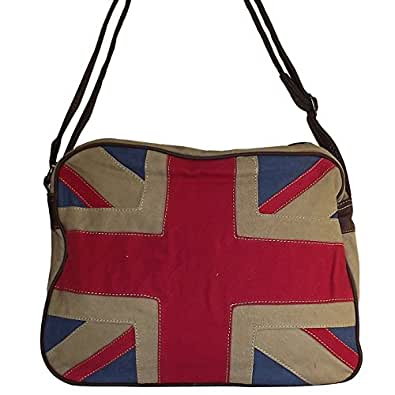 Chapeau-tendance - Sac cabas Union jack London David Jones - - Mixte