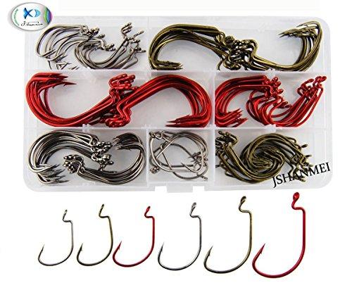 jshanmei-2x-stark-6-grossen-150-stuck-box-7316-offset-wurm-haken-angelhaken-angelhaken-set-size-1-5-