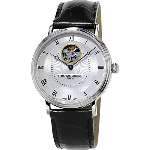 Frederique Constant Classics Automatic Heart Beat Stainless Steel Mens Watch FC-312MC4S36