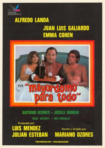 Mayordomo para todo poster Movie Spanish 11 x 17 pollici - 28 cm x 44 cm