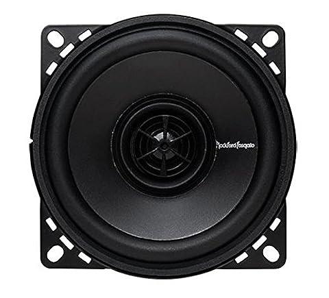 Rockford Fosgate R14x2 Prime 4-Inch Full Range Coaxial Speaker - Set Of 2 Black